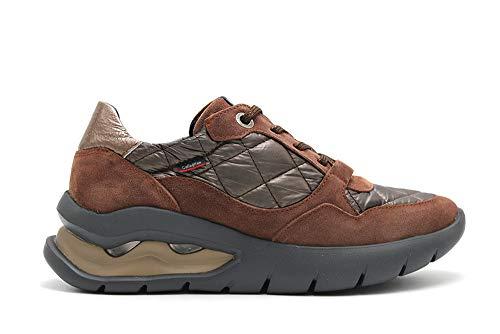 CALLAGHAN - Zapatillas Casual - Cuero para: Mujer Color: Tuna Topo/NYLO TEDIMORO/Rock Castor Talla: 37