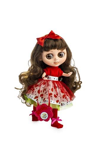 Alyssa Anguria di Silvia & Kids bambola con gonna tulle rosso