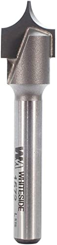 popular Whiteside Router Bits 1572 Point Cutting Round Over Bit with 1/4-Inch Radius, 1/2-Inch Cutting Diameter sale and 1/2-Inch 2021 Cutting Length online