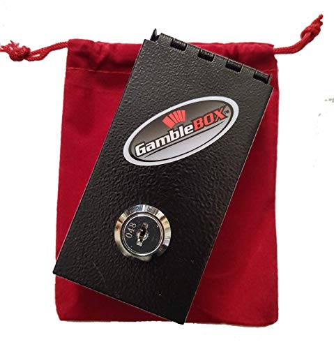 of pouch wallets dec 2021 theres one clear winner Gamblebox Gambling Personal Pocket Cash Drop Lock Box Safe Wallet With Red Velvet Carrying Bag