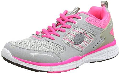 Dockers by Gerli Damen 37IE201-700 Sneakers, Grau (grau/pink 250), 39 EU