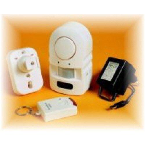 Mini-Alarmanlage Pentatech MA 03 mit Fernbedienung und Netzgerät