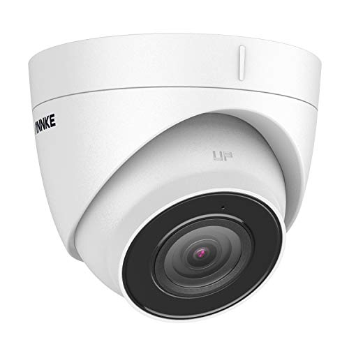 ANNKE C800 4K Ultra HD PoE Security Camera w/ Audio, 8MP IP Turret Camera, Compliant for H.265 /H.265+ NVR, 100ft EXIR2.0 Night Vision with Sony Sensor, IP67 Weatherproof, Remote Access