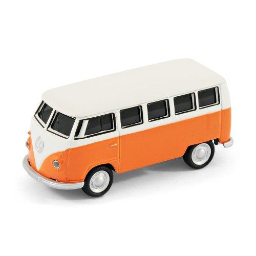 USB-Stick Auto - VW Bulli Bus - 16 GB - Orange