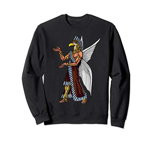 Annunaki Alien Gott Sumerische Reptilien Sweatshirt