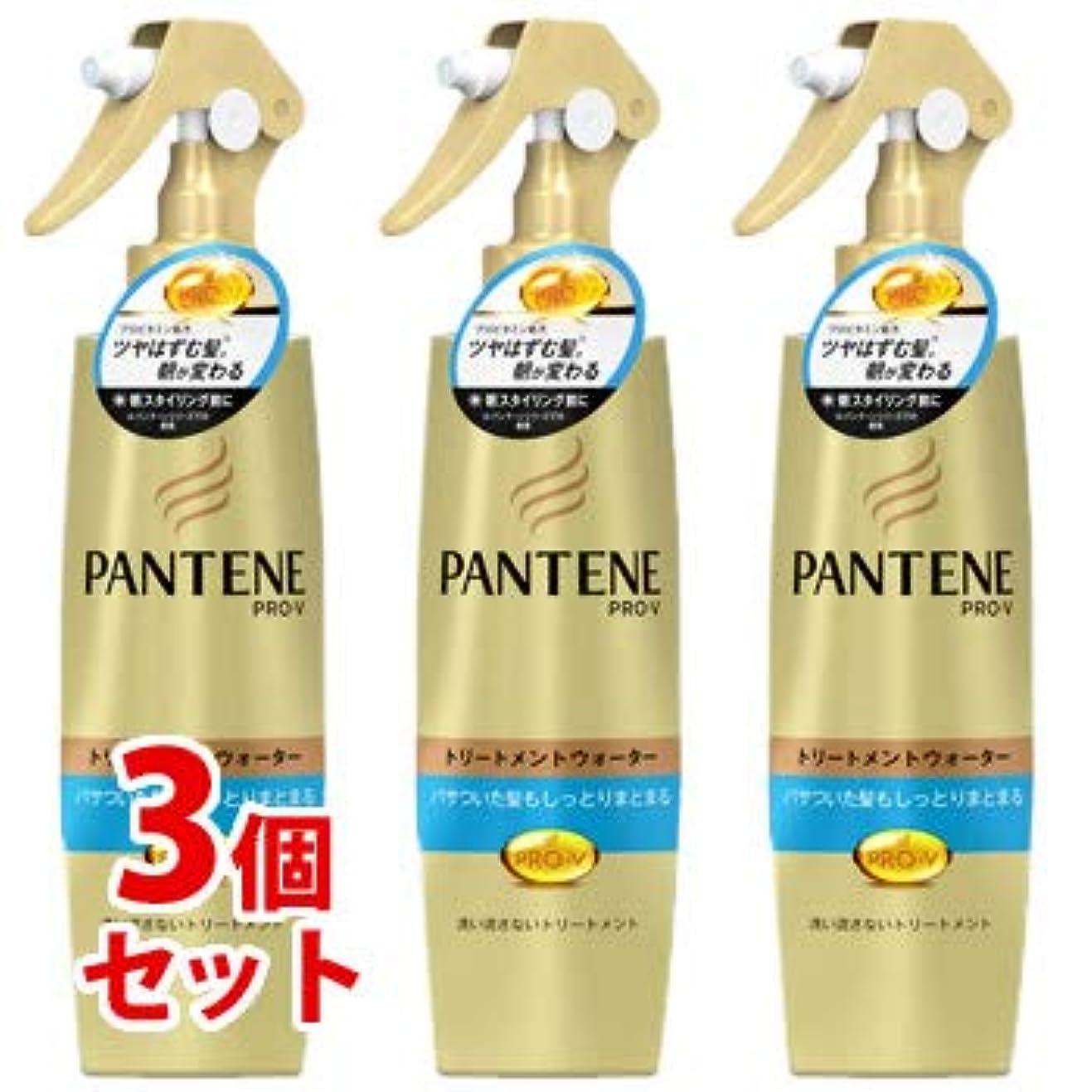 《セット販売》 P&G パンテーン PRO-V プロブイ トリートメントウォーター パサついてまとまらない髪用(200mL)×3個セット