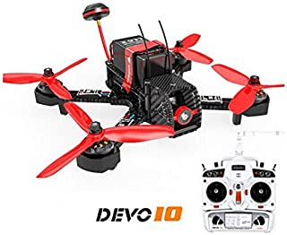 Walkera Furious 215 215mm F3 5.8G 600TVL Camera 8CH BNF Multirotor RC Toys FPV Racing Drone (With Devo 10 Transmitter)