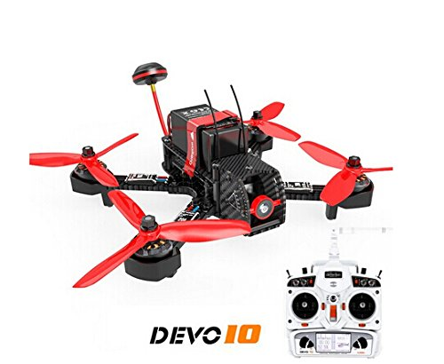 Walkera Furious 215 215mm F3 5.8G 600TVL Camera 8CH BNF Multirotor RC Toys FPV Racing Drone (With Devo 10 Transmitter)