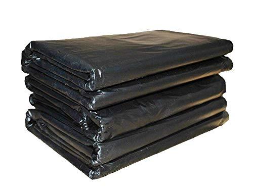 Cfbcc Verdickte Müllsack Haus flach schwarz großen Plastiksack Eigentum Hotel Sanitär Küche Verpackung schwarz Barrel Liner Tasche Kinder (Size : 1000 Pieces)