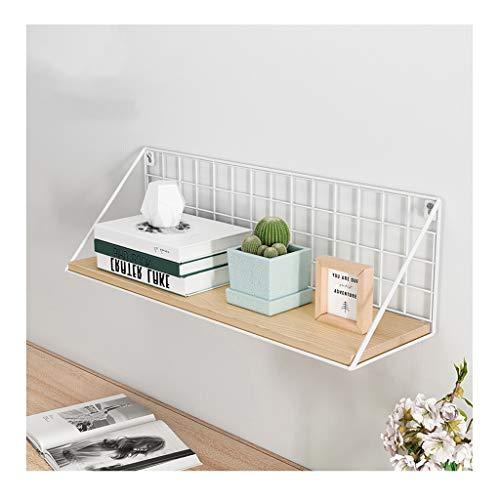 Yxx max -bloemenrek bloemen-stand-smeedijzer-rek laminaatopslag Ins keuken-frame bureau scheidingswand hangend rek wand-bloemen stand (23/33/43cm) Drie soorten displaystandaard