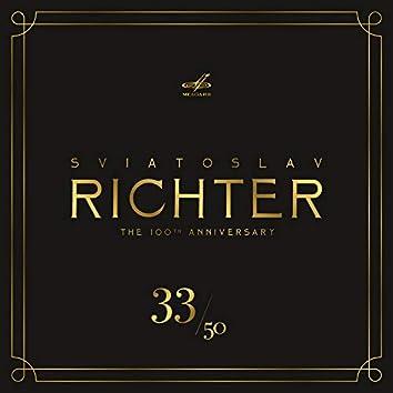 Святослав Рихтер 100, Том 33 (Live)