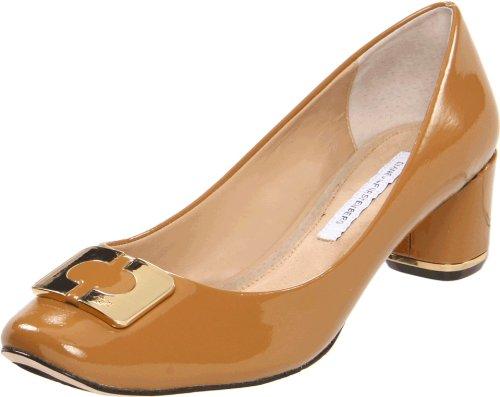 Diane von Furstenberg Women's Bonnie, Honey Patent, 9 M US