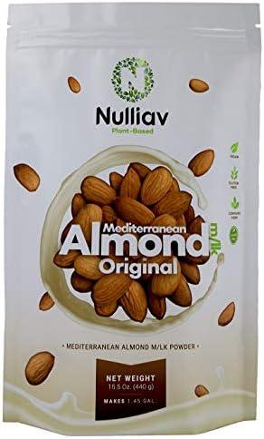 NULLIAV Mediterranean Almond Milk Powder Original 15 5 Oz 440g Makes 1 45 GAL product image