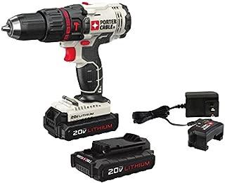 PORTER-CABLE 20V MAX Hammer Drill Kit, Compact (PCC621LB)