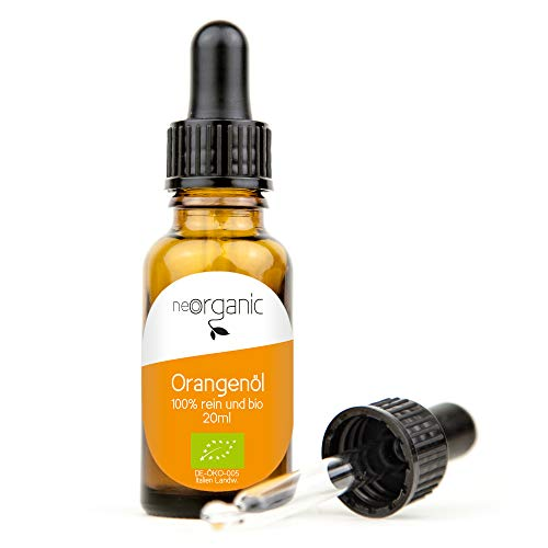 Bio Orangenöl (Citrus Aurantii Dulcis) – 20ml – aus dem traditionellen Anbaugebiet im Süden Kalabriens, Italien. Herrlich süßer Duft und satte orange Farbe – 100% naturreines ätherisches BIO-Öl