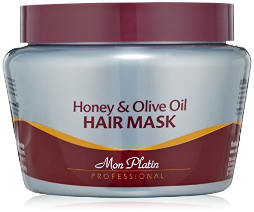 Mon Platin Honey and Olive Oil Hair Mask, 500 Gram