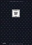Kalender 2020/2021 Din A4 Vertikal Schwarz: Praktischer Notizkalender Format groß, 18 Monate Juli 2020 bis Dezember 2021, 1 Woche auf 2 Seiten, mit ... fürs Büro, Schule oder Familie, Band 2021)