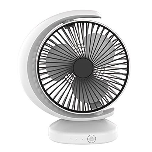 Wendao Ventilador portátil de aire acondicionado USB Mini estudiante Ventilador de circulación de aire
