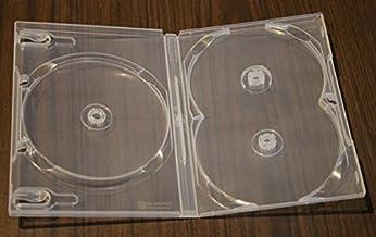 Viva Similar Quality Dual Holder Box 18 pcs//Pack 11mm MegaDisc Blu-ray Double 2 Discs Case Premium