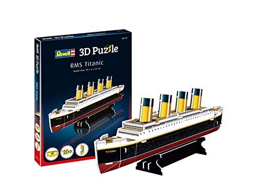 Quebra-cabeça 3D (3D Puzzle) RMS Titanic - Revell 00112