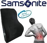Samsonite SA5447 \ Full Size Lumbar Support \ 100% Pure Memory Foam \ Helps...
