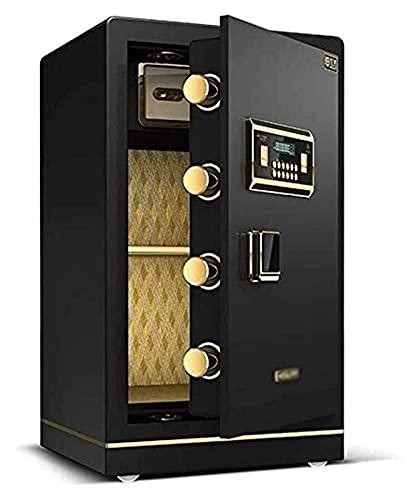 Caja fuerte de diseño para el hogar, caja fuerte para el hogar, cajas de seguridad para dinero, cajas fuertes para el hogar Caja fuerte electrónica para el hogar con contraseña mediana Caja fuerte par