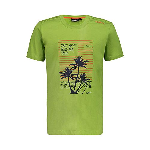 CMP T-Shirt 100% Baumwolle, Kinder, Herbal, 104