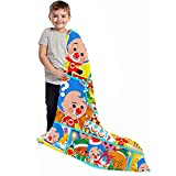 Baby Blanket, Soft Cartoon Throw Blankets, Lightweight Breathable Bed Blanket Quilt Home Decor Party Supplies, Receiving Blankets for Child Couch Sofa Bed Camping, 30 X 40 Inch
