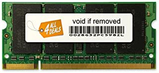 1GB RAM Memory Upgrade for the Dell Latitude D410, D420 and D430 Systems (DDR2-533, PC2-4200, SODIMM)