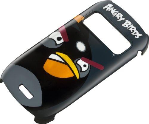 Nokia Angry Birds Schutzhülle für C6-01, Black Bird