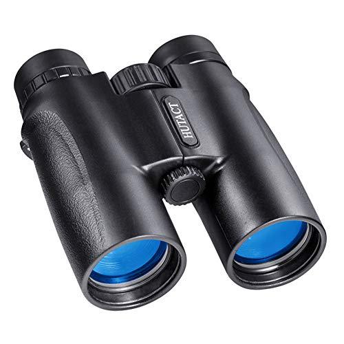 Prismáticos 10x42 Gran Aumento HD Telescopio Portátil de Visión Nocturna con Poca Luz para la Caza al Aire Libre, Prisma BAK4