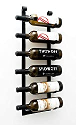 VintageView W Series (2 Ft) - 6 Bottle Wall Mounted Wine Rack