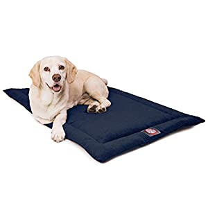 42″ Villa Navy Blue Crate Dog Bed Mat By Majestic Pet Products
