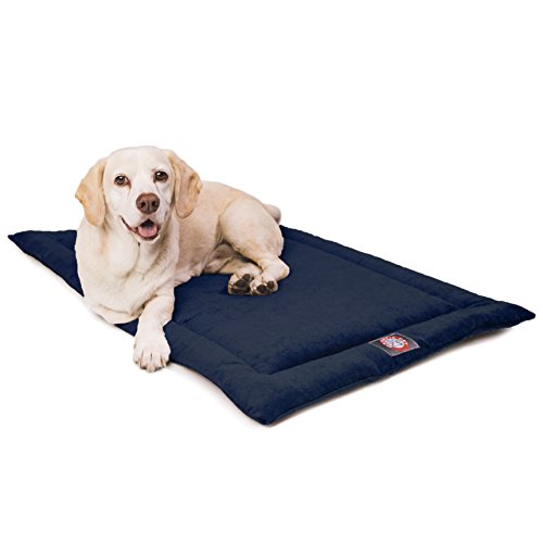 42' Villa Navy Blue Crate Dog Bed Mat By Majestic Pet Products