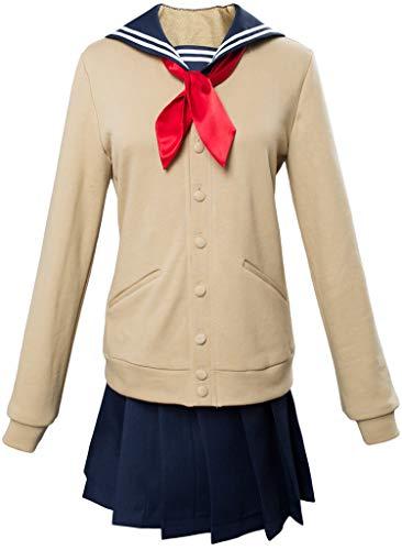 Helymore Uniforme Escolar Japones para Ninas Uniforme de Cosplay Anime Traje de Marinero para Mujer Conjunto Completo, M