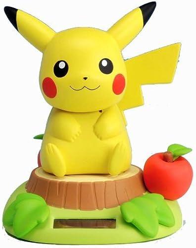 Pikachu Sunshine Buddies (Nohohon Zoku) Solar Bobble-Head Figure (Japanese Imported) by Shopro