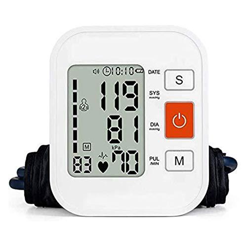 HKJZ SFLRW Monitor de presión Arterial - Máquina automática de Brazo Superior y Kit Digital Ajustable preciso - Pantalla más Grande