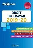 Top'Actuel Droit Du Travail 2019-2020 - Format Kindle - 9782016277812 - 3,99 €