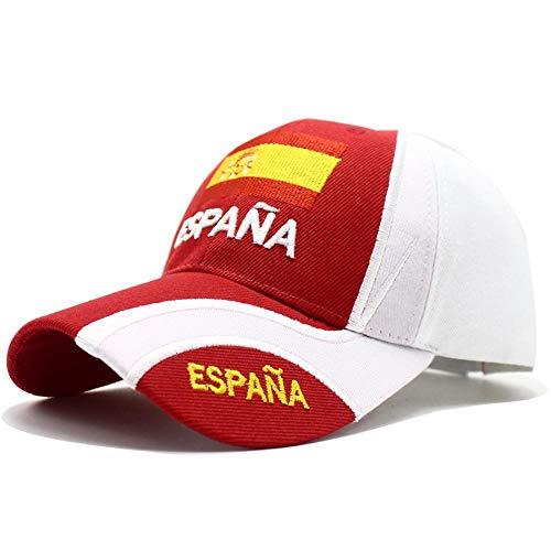 Herren Kappe Cap Hut Spanien Baseball Cap Hüte Männer Frauen Lässig Sport Verstellbare Kappe Besticktes Spanisches Geschenk Bdesignred