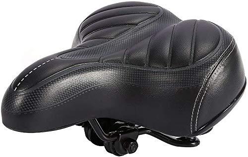Ejoyous Fietszadel, met dubbele vering, comfortabele fietszadel, ergonomische gel, voor fiets/mountainbike/straatfiets
