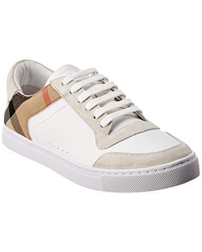 Burberry Zapatillas Para Hombre Optic White Blanco Size: 40 Eu