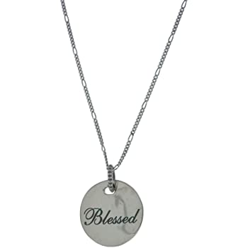 Amazon Com Pandora Blessed Pendant 925 Sterling Silver Necklace No Color Size No Size Jewelry