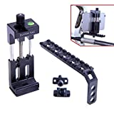 Elvish Tac Smartphone Camera Bow Phone Mount for Compound Bow Record Bowhunt iPhone Samsung GoPro (Black)
