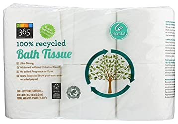 365 Everyday Value, Bath Tissue, 6 ct