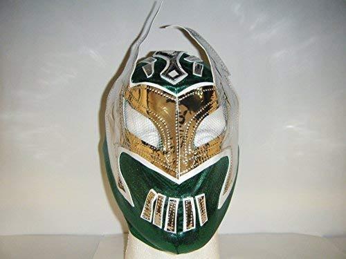 Mexikanischer Grün - Sin Cara Mit Reißverschluss Kinder Wrestling Maske