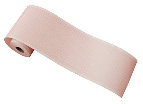 tecnocarta decg-03a rollos de papel térmico para ECG compatibles con Mindray decg-03a (80mm x 20m)