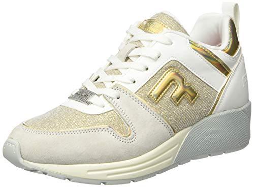 Replay Damen Ice - PLUGIN Sneaker, Grau (Iriscent Platinum 2800), 39 EU