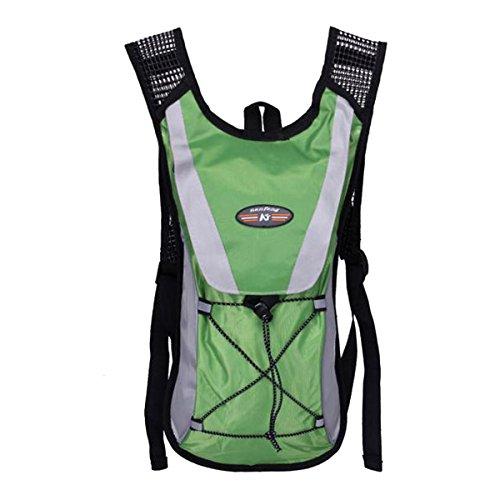 ZUMUii Butterme Bubble Hydration Pack Sac de Respiration de vélo avec 70 oz. 2L de Bulles d'eau sans BPA Parfait pour Les activités de Plein air, la Course, Le Ski, la randonnée, Le Cyclisme