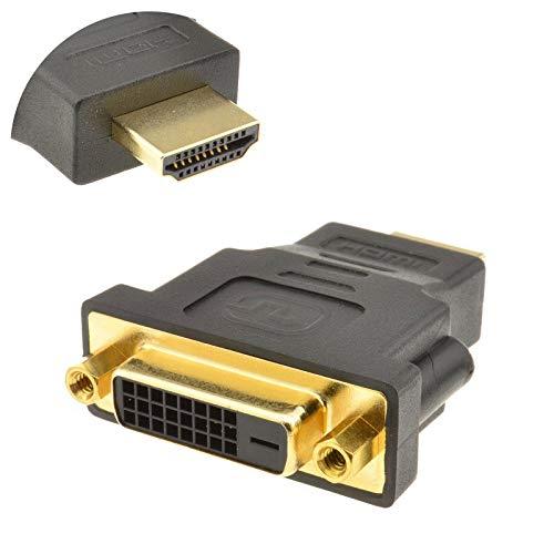Hdmi naar HDMI to DVI Adaptor (DVI-D Dual Link 24+1) DVI Adapter Voor Vrouwelijk Naar HDMI-Man Met Verguld Kabel 1080P Full HD-Converter Hdmi Naar Scart-Adapter