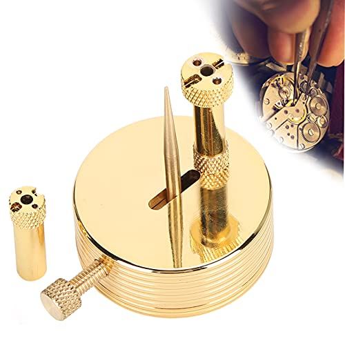 Soporte de equilibrio de reloj, soporte de resorte para reloj Soporte de equilibrio de reloj profesional para taller de reparación de relojes, así como reparación de bricolaje en el hogar